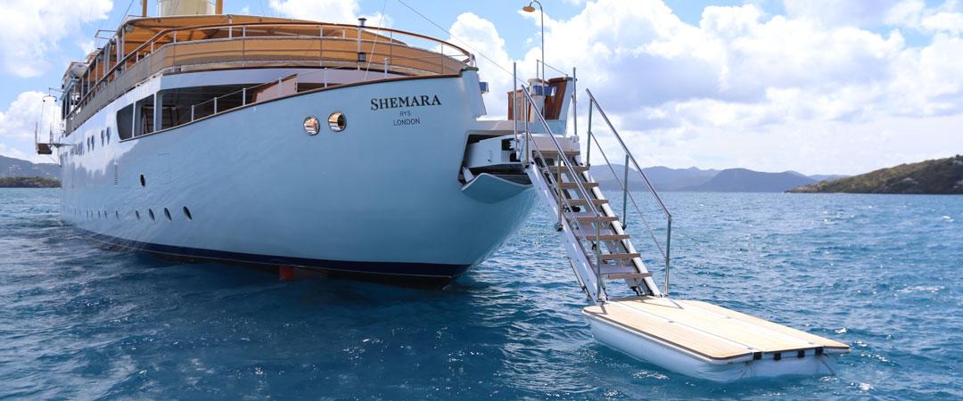Shemara Yacht Tec Passerelle